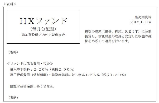 2021年5月実施FP3級実技試験第4問の資料