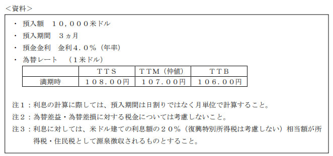 2020年1月実施日本FP協会FP2級実技試験第29問の資料②