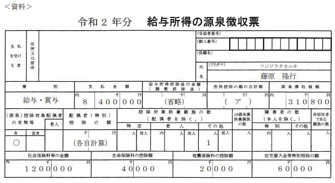 2021年5月実施日本FP協会FP2級実技試験第36問の資料②