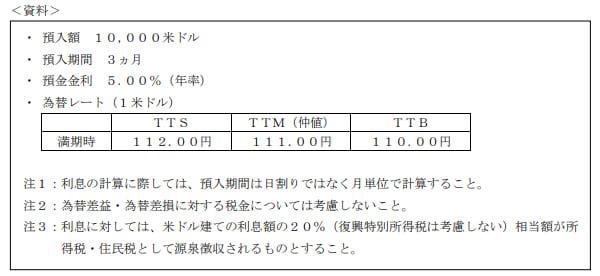 2019年9月実施日本FP協会FP2級実技試験第29問の資料②
