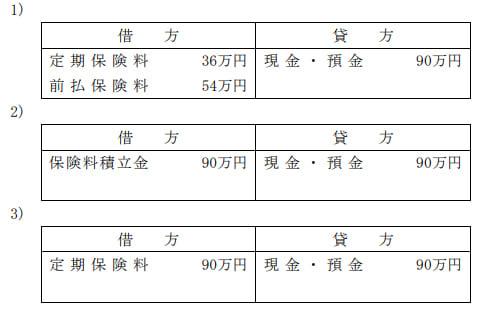 2021年9月実施FP3級実技試験保険顧客資産相談業務問8の資料②